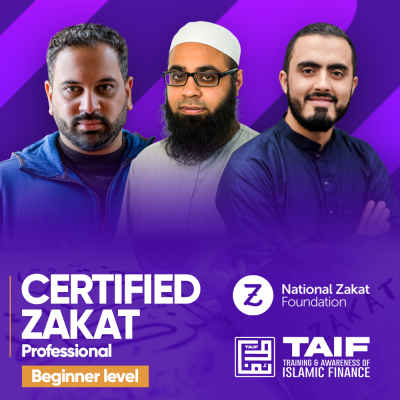 Certified Zakat Professional - Beginner level