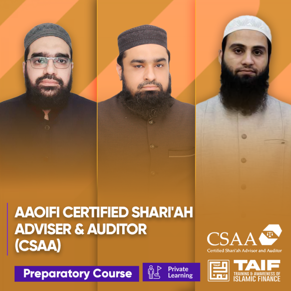 AAOIFI Certified Shari'ah Adviser & Auditor  (CSAA) Preparatory Class